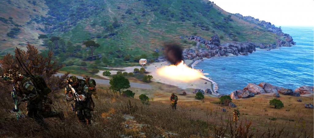 Opération coo arma 3